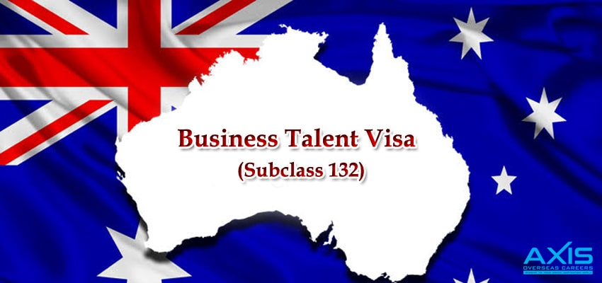 Business Talent Visa (Subclass 132)