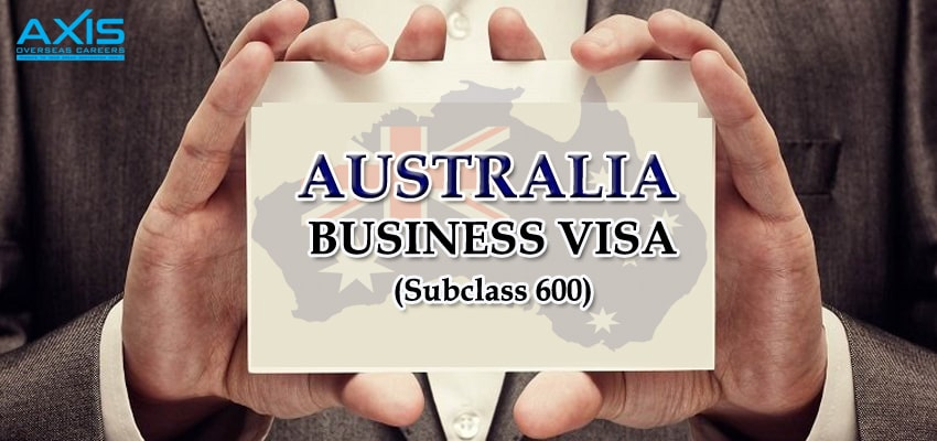 Business Visa (Subclass 600)