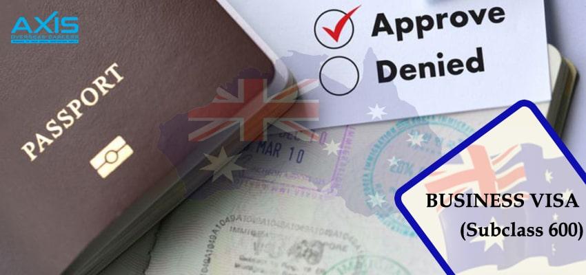 Business Visa (Subclass 600)