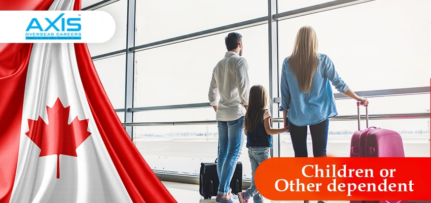 canada Children or Other dependent visa