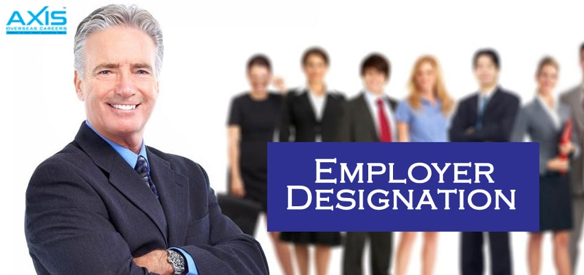 Employer Designation