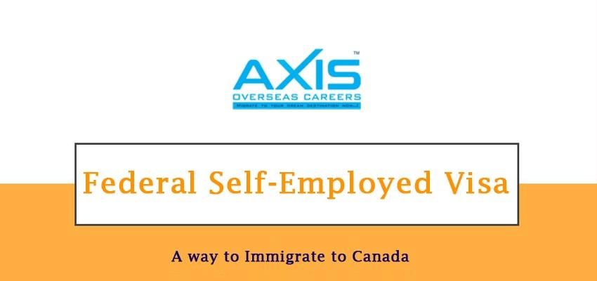 Federal Self-Employed Visa