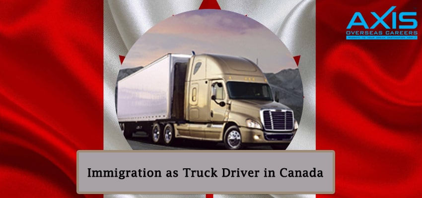 Immigration as Truck Driver in Canada