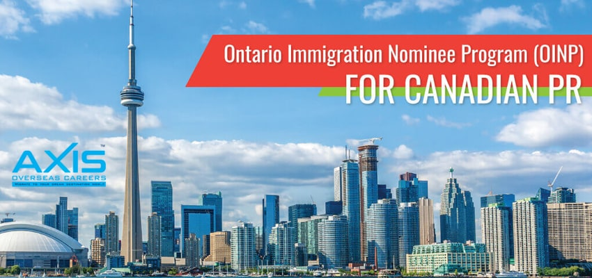 Ontario Immigration Nominee Program (OINP)