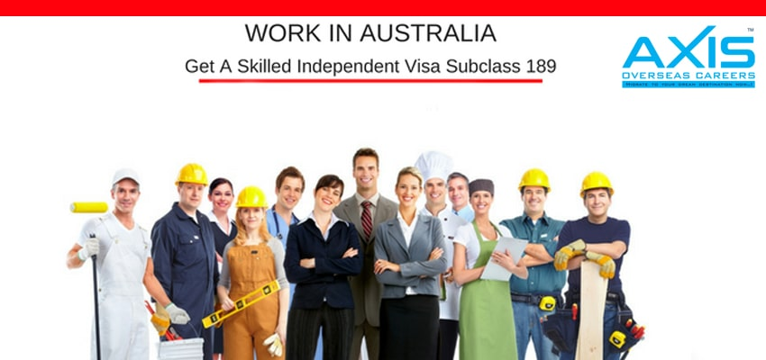 Skilled-Independent Visa Subclass 189