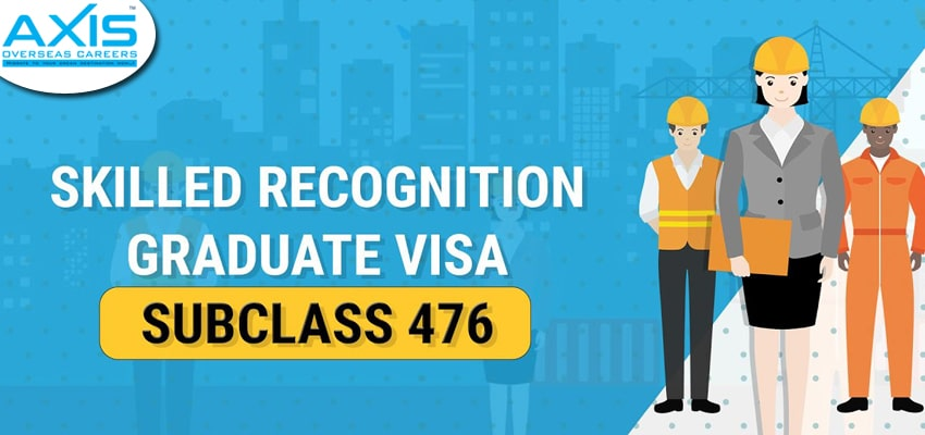 Skilled-Recognized Graduate Visa Subclass 476