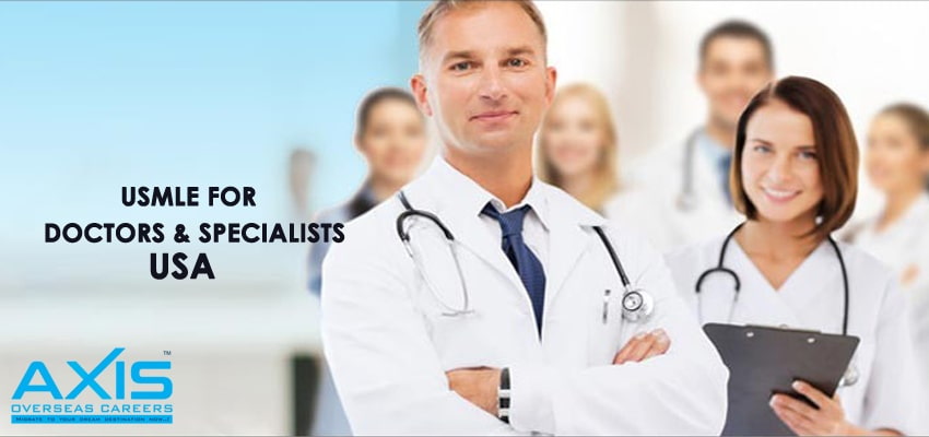 USMLE FOR DOCTORS AND SPECIALISTS IN THE USA
