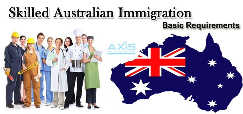 Australia Immigration basic requirements